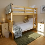 Photo of bedroom with bunk beds and drawers in Cosaig self catering Innerleithen