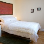 Photo of double bed at Cosaig Self-Catering Innerleithen